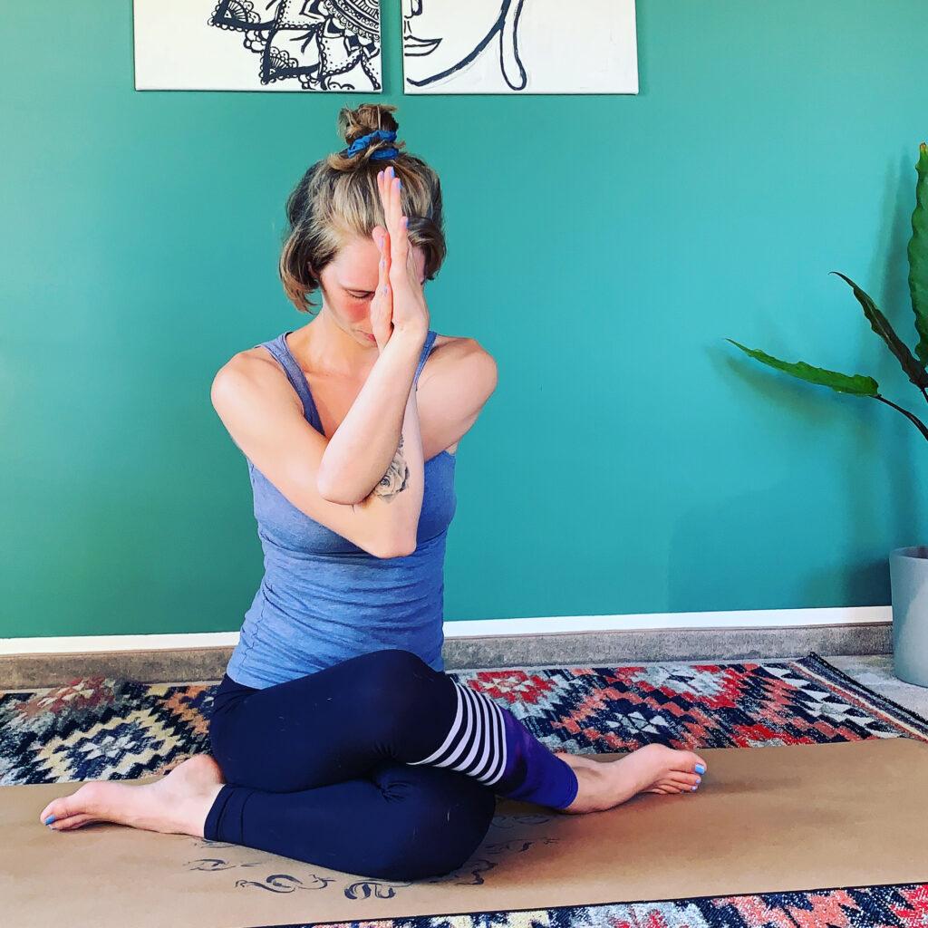 Yogalehrerin Raum Bamberg
